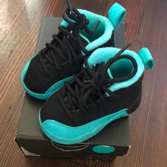 new concept 83a76 56294 Infant Jordan 12 3c hyper jade